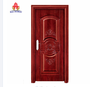 Used commercial security steel door strong room steel door wood color door