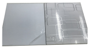 high glossy acrylic sheet for kitchen cabinet