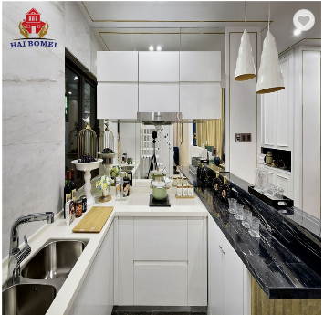 Round shape ready made your kitchen cabinets with sink