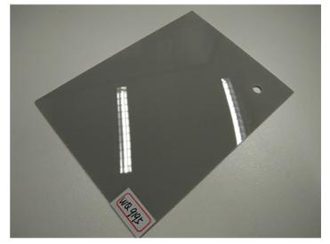 1mm high glossy acrylic sheets