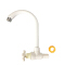 American modern style pull down white t-type handle faucets kitchen sink water tap