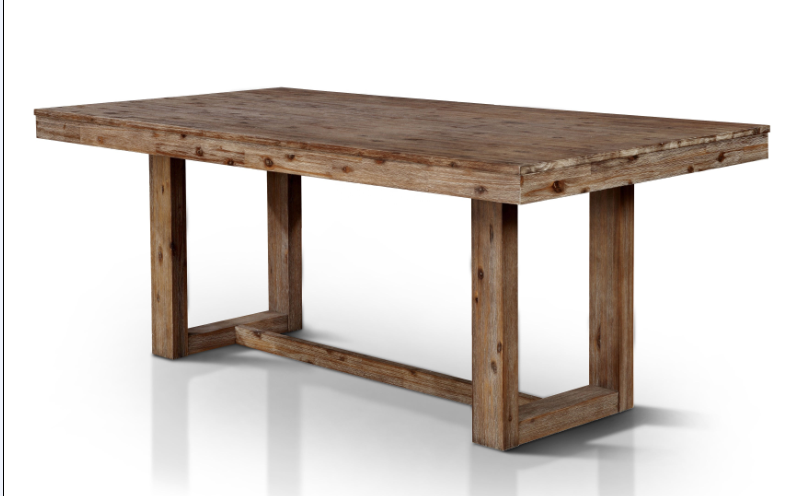 Gray Barn Whiskey Rose Natural Tone Plank-style Dining Table
