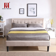 modern beauty bed room furniture smart green leather adjustable queen bed furniture