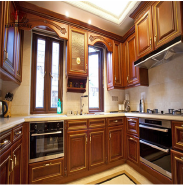 New styles solid wood inset kitchen cabinets exported to middle East industrial kitchen cabinets