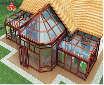 2018 Laminated tempered glass price garden house