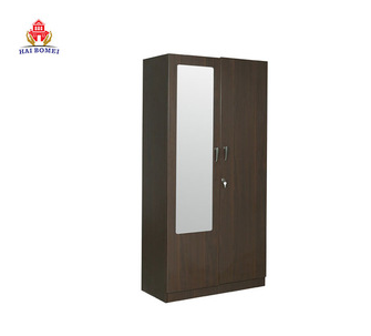 Bedroom furniture sliding door wooden almirah wardrobe designs