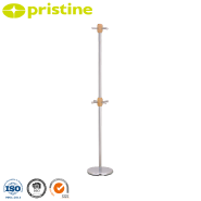 High quality easy assembly design metal clothes hanger stand