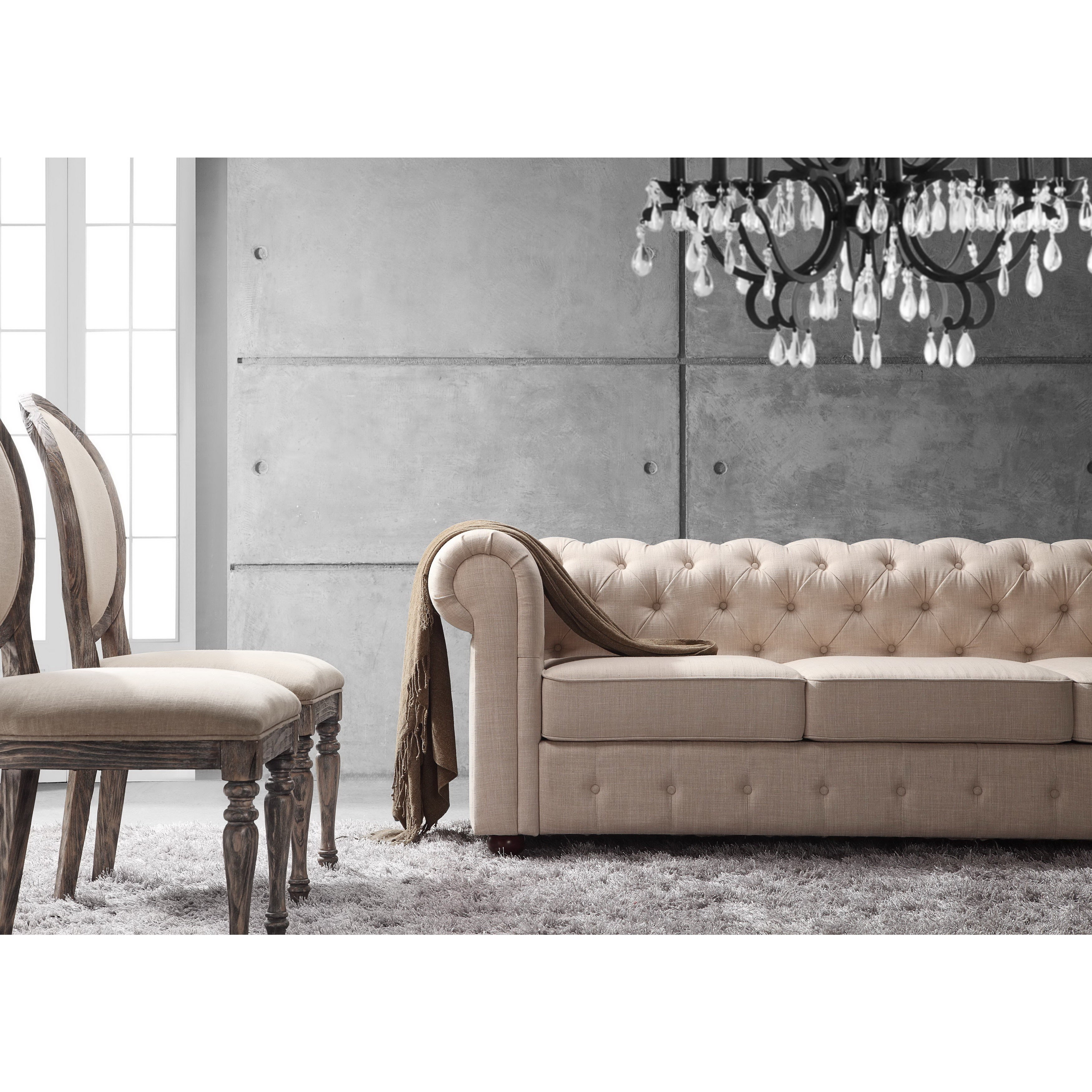 Dingzhi Free Sample Moser Bay Furniture Roll Arm 7 Seats Sectional Sofa Set