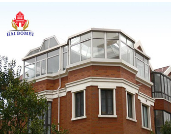 Wood aluminum Sun room/ conservatory cheap for sale/ China wholesale