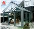 China outdoor balcony aluminium frame glass sunroom winter garden glass sun room Prefabricated Glass