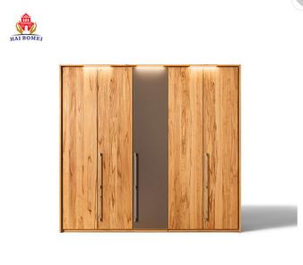 European style classical design cloth wardrobe bedroom solid wood wardrobe