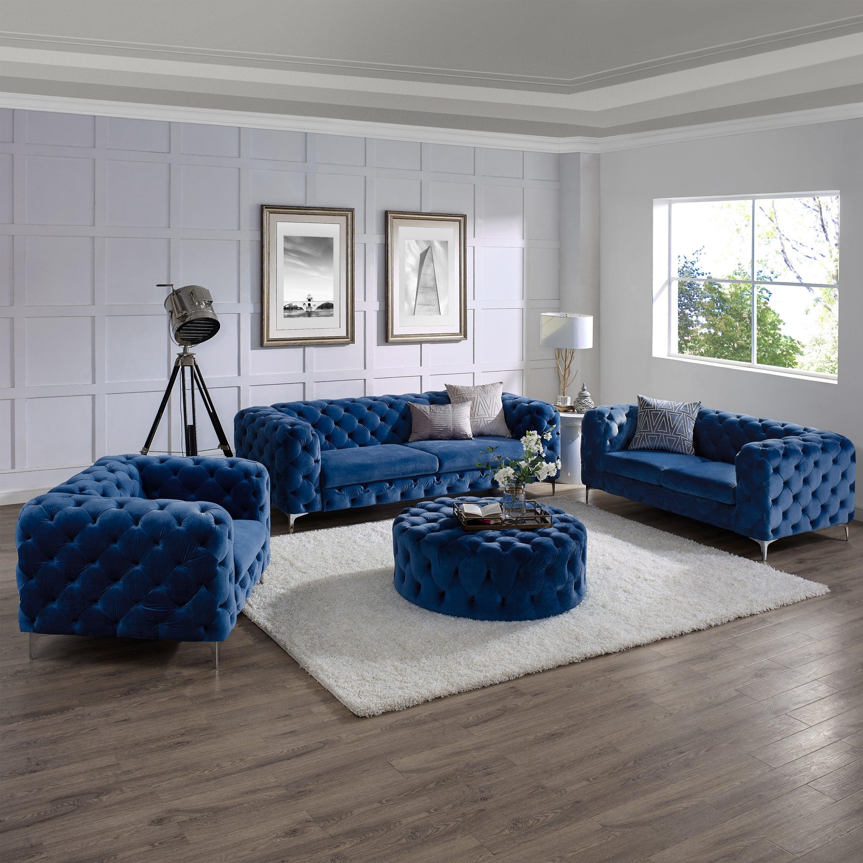 Amerecan hot sale 2019 modern design luxury furniture  fabric  living room sofa Set