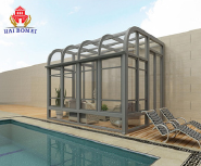 Fashion Design Aluminium Sun Room with Double Glazing