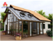 Chinese Factory Thermal-Break Aluminum Sun House/Aluminum Sunroom and Glass Room