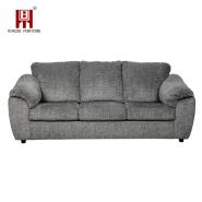 Modern Arabic Classic Wooden Linen Fabric Corner Sofa Set for Living Room