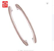 ZE-5121 cheap price aluminum alloy door lever handle for glass door