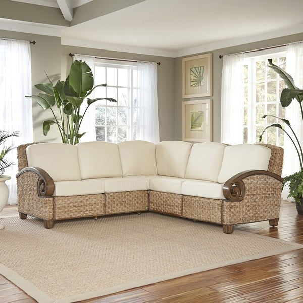 Cabana Banana III L Shaped Sectional by Home Styles