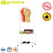 Made in Taiwan manufacturer metal portable clothes bedroom wardrobes