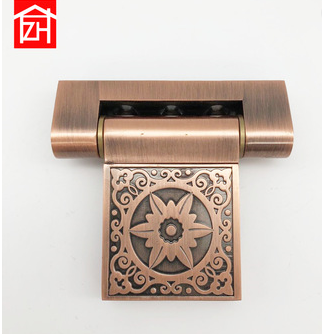 High Quality metal Door Hinge, bronze color aluminum alloy glass door hinge
