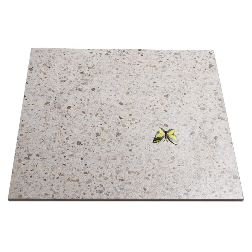 60X60 Rustic Matt Finish Bathroom Tile Terrazzo Flooring
