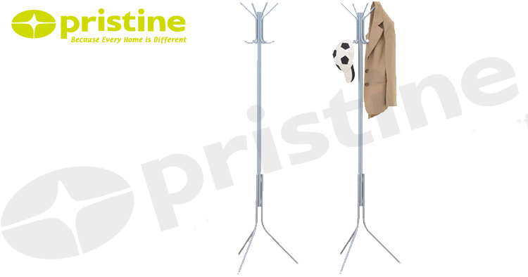 High quality easy assembly metal coat hanger tree
