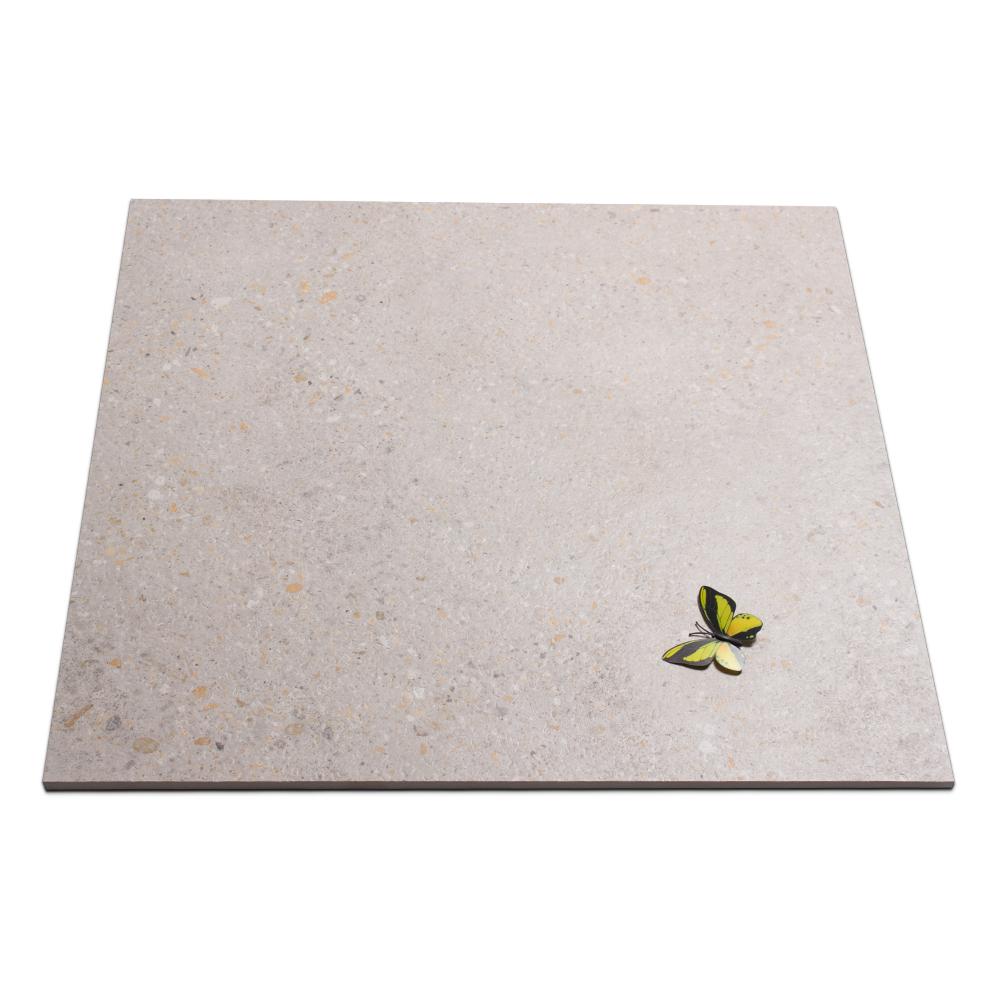 24X24 Bathroom Floor Grey Rustic Waterproof Tile Terrazzo Slabs