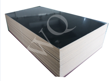 Plain color UV coated MDF with PVC egde banding