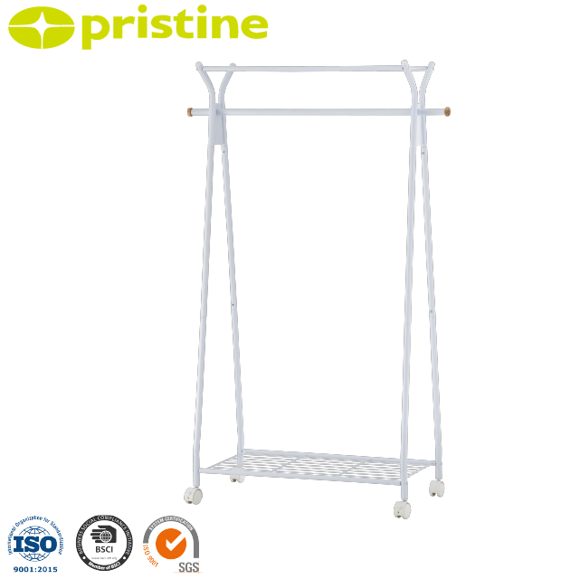 Taiwan manufacturer bedroom furniture clothes stand with coat hanger