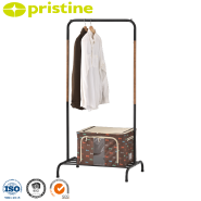 Taiwan manufacturer wood grain clothes hanger stand