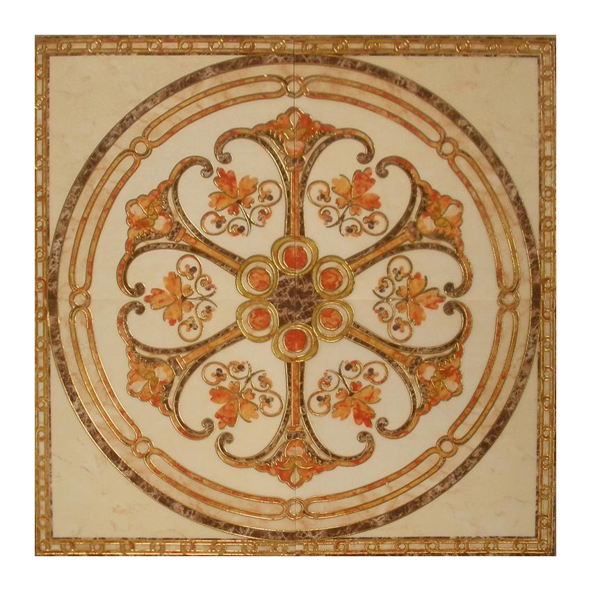 Golden Ceramic Polish Porcelain Carpet Floor Tile 600x600