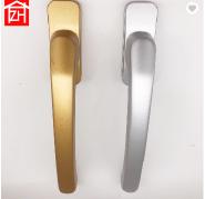 foshan manufacturer high quality aluminum alloy material amber gold aluminum casement window lock ha