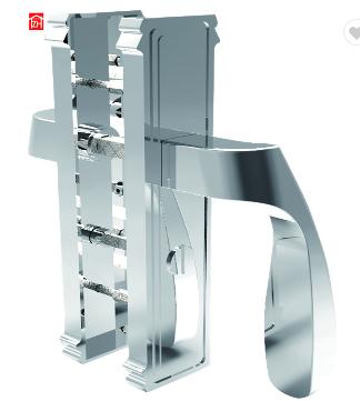 wholesale foshan factory double entry door handle lock for security