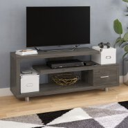 tv stand wood modern best buy
