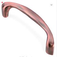 ZE-5105 zinc alloy material big heavy double sided door pull handle for large glass door