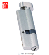 high quality copper material silver color 90mm door lock cylinder