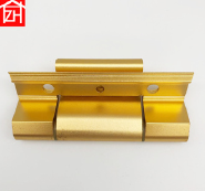 aluminum alloy made oxide finish gold/silver color door and window hinge for sauna glass do
