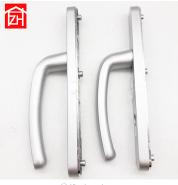 14ZD-0004 aluminum alloy material mortise door lock with lever handle for bifold door