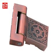 ZE-6101 bronze/titan silver color swing glass door and window hinge apply to flat or camber