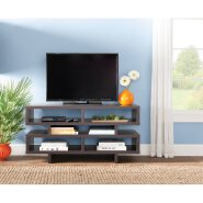 french style bend wood frame tv stand