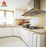 guangzhou free standing lacquer hpl kitchen cabinets
