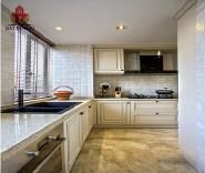 Modern designed solid wood kitchen cabinets set base cabinets european styles