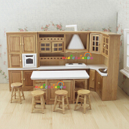 Shenzhen Prima Industry Co., Ltd. Solid Wood Cabinets