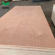 okoume AABB grade veneer one time hot press commercial plywood 18mm for Indian market