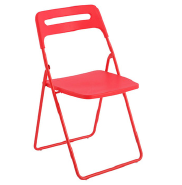 Modern cheap colorful outdoor fancy outdoor plastic iron folding chair