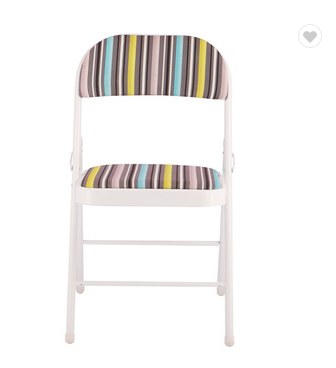 Manufacturer Fabric Chinese Heavy Duty Folding Dining Chairs