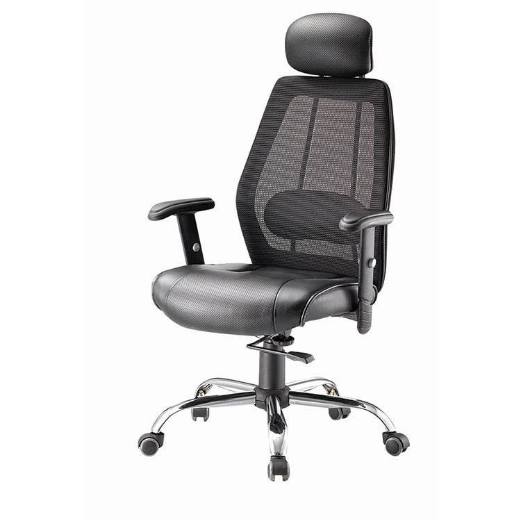 BF-019C# Fashion mesh swivel lift office chair with neck support