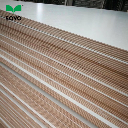 High Quality White color 18 mm melamine laminated plywood