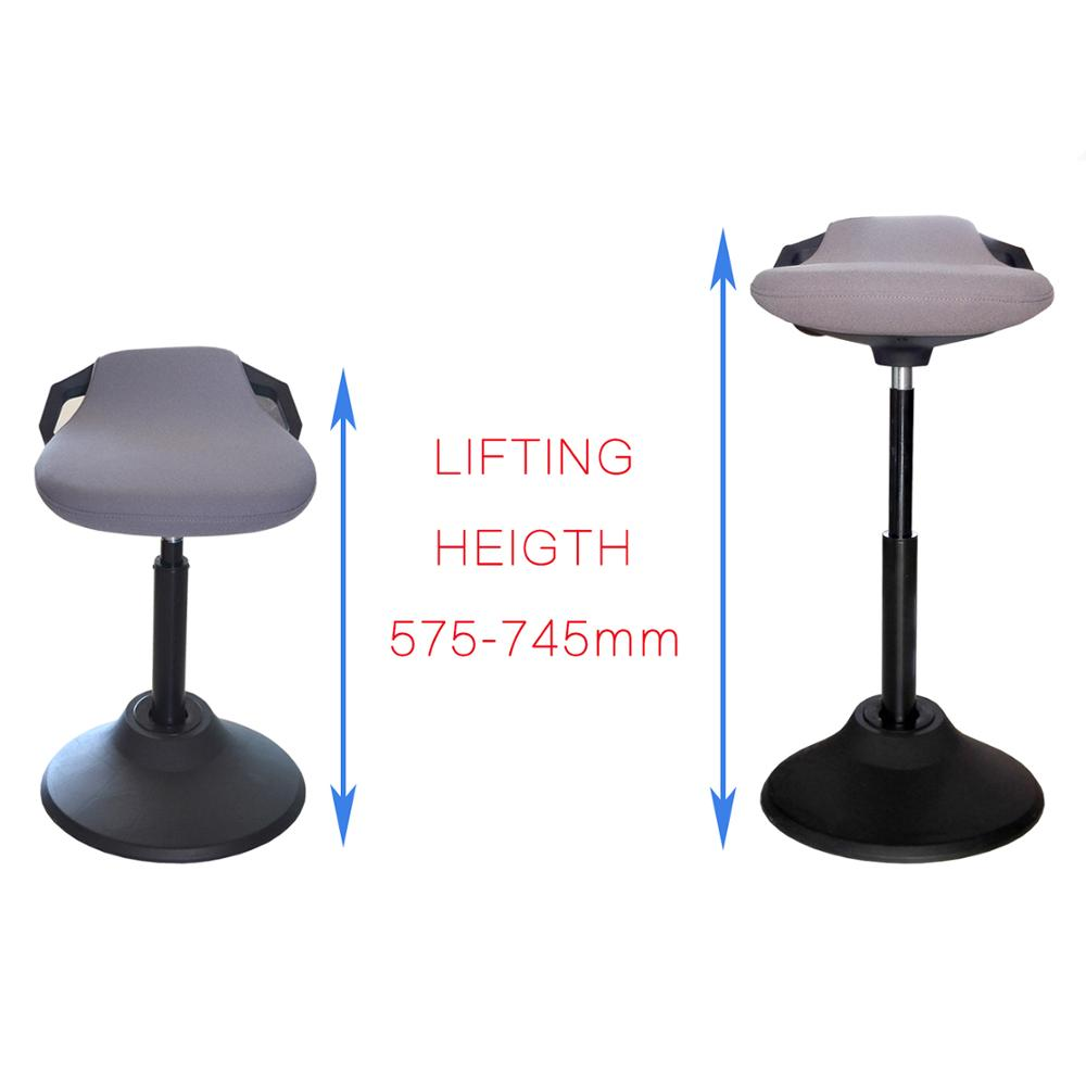 manual lifting saddle office chair used executive office chairs for height adjustable movable standi