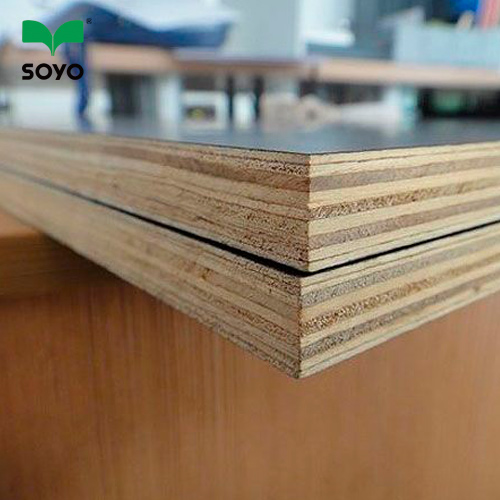 cheap price brown hardwood core Film faced waterproof plywood