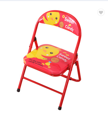 children's folding metal dining chair wholesale